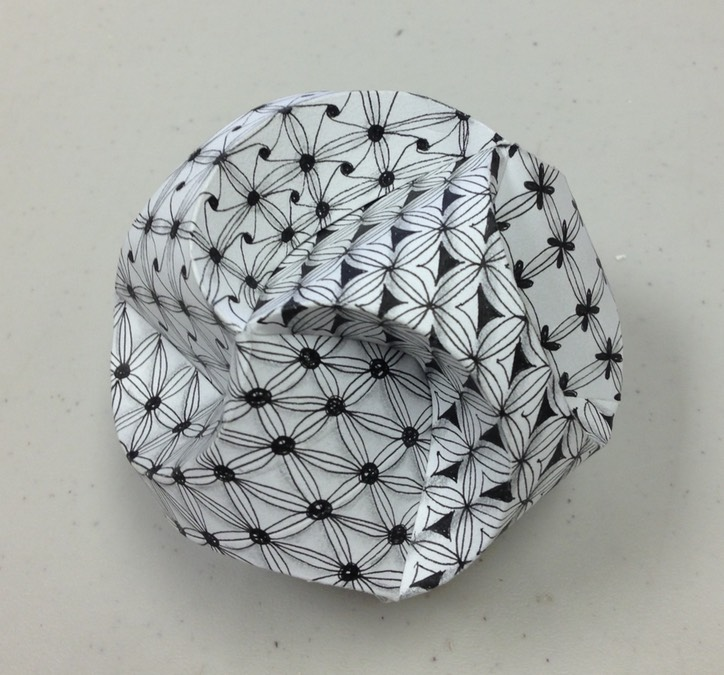 Zentangle 3D Ball