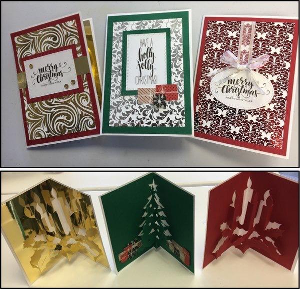 fancy foiled christmas cards - Fancy Christmas Cards